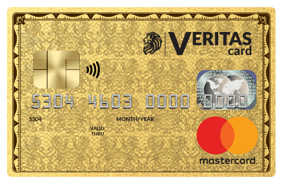 BUY A VERITAS CARD » GET A VIRTUAL CARD FOR FREE